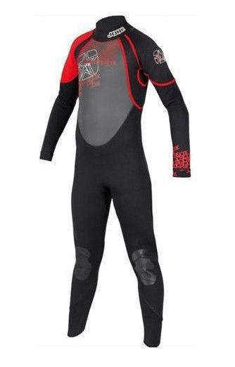 Jobe Full Suit Rebel Rosso Bambini Neoprene Costume da Bagno