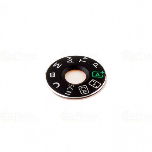 REGOLATORE di GIREVOLE-Dial moda Plate per Canon EOS 70d