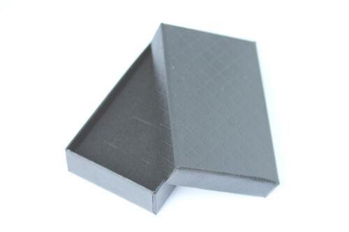 925 Pluma de Plata Esterlina Colgante Collar Con Caja De Regalo