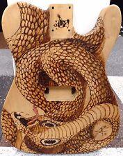 Warmoth Telecaster Body ONLY - Custom Cobra Art - ALDER?- SOLD AS IS