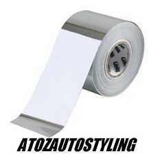 Chrome Detailing Foil Tape Car Stripe Coachline 10m Roll x 30mm Wide <<NEW>>