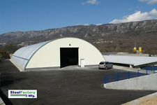 Steel Metal Arch Roof Quonset 42x60x175 Construction Equipment Storage Cover