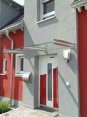 """Fassade KüHn Edelstahl Glas Vordach """"san Diego""""vordächer Vsg-tvg Baustoffe & Holz"""