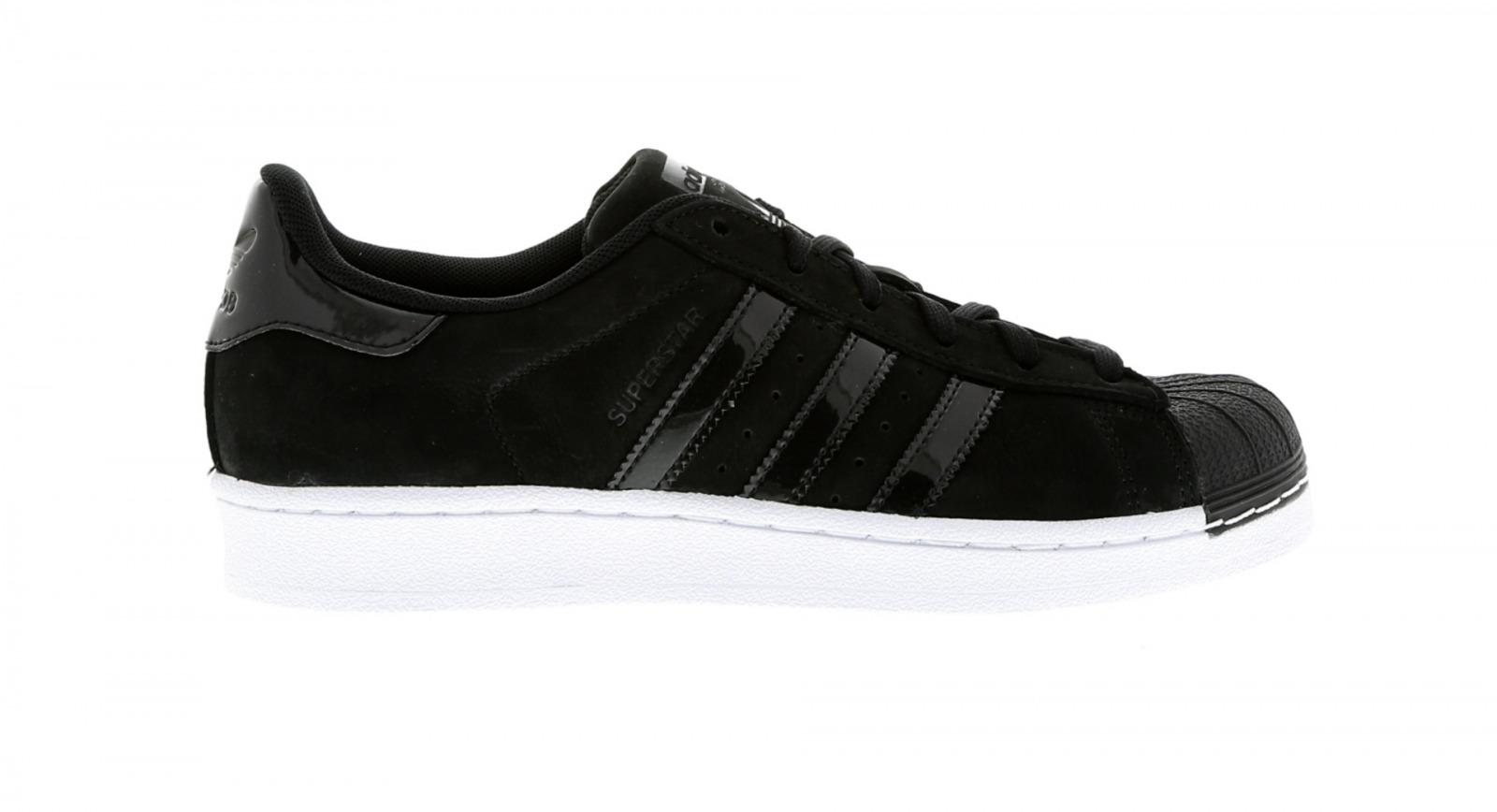 Zapatillas para mujer Adidas Superstar W Negro BA7488
