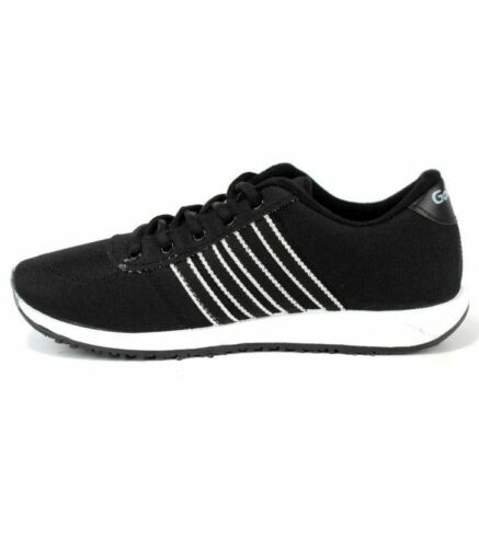 Mens shoes Casual Running Sports Outdoor Gym Work stylish shoes Trainers Black
