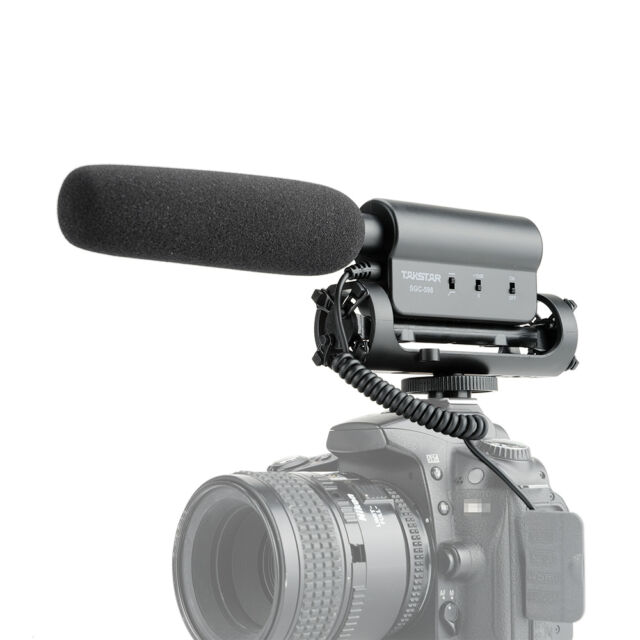 Takstar SGC-598 Stereo Video Shotgun Microphone for DSLR Cameras/Camcorder