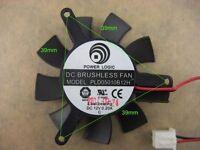 45mm Fan For Ati Radeon Vga Video Card 39mm 2pin 0.20a Pld05010b12h 071