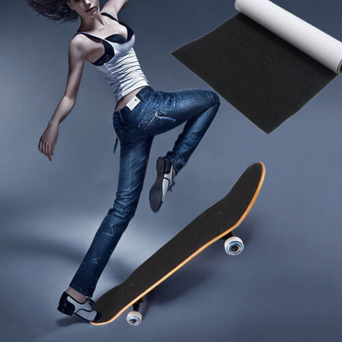 81*22cm Impermeabile Skateboard Deck Sandpaper Grip Tape Griptape Skating Board