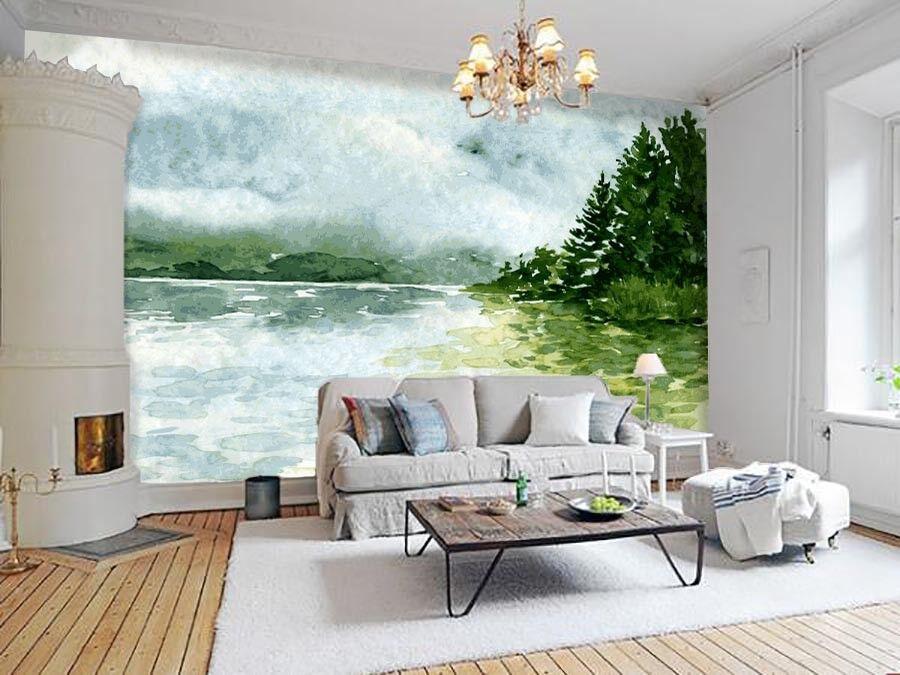 3D Tree Paint 4075 Wallpaper Murals Wall Print Wallpaper Mural AJ WALL UK Carly
