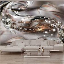 PREMIUM 3D DESIGN VLIES FOTOTAPETE ++ ABSTRAKT DIAMANTEN ++ 350 x 245 cm ++ NEU