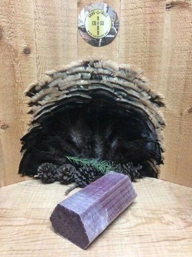 "Bundle of  50 Rounded Purpleheart  5//16/""   Turkey  Call Striker Dowels Pre"