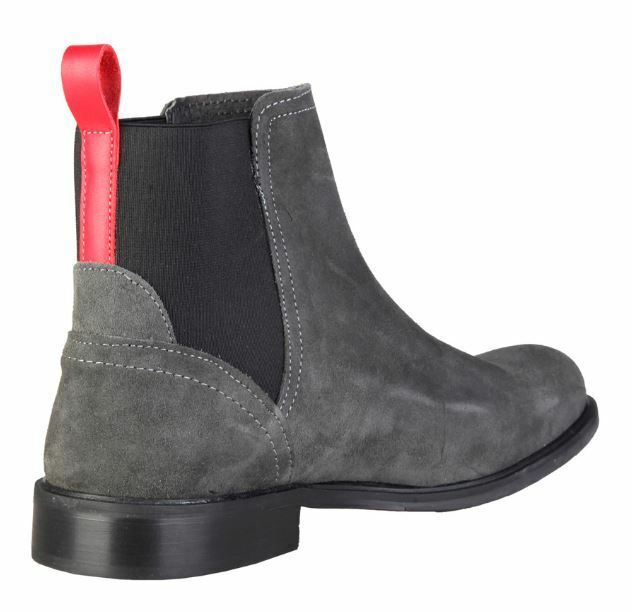 Versace 1969 grau DOMINIC Echtleder Stiefel grau 1969 Herrenschuhe alle Größen 1d18fe