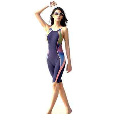New Professional Sexy Swim  One Piece Sports Slim Women Cross Training Swimsuit