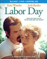 Labor Day (Blu-ray/DVD, 2014, 2-Disc Set) VG