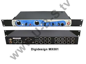 Other Consumer Electronics Video Production & Editing Aggressive Digidesign Mx001 Computer Recording System Für Mac