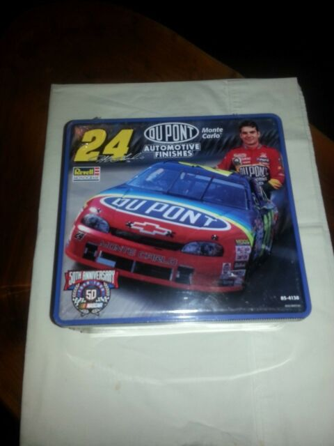 1998 Revell #24 Jeff Gordon Model Kit in 50th Anniversary Tin