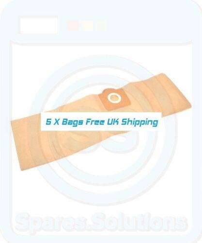 5x Dust Bags for Siemens Dry /& More VM 39999 Original VZ 92351 UZ 92351
