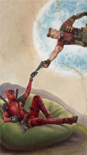 Deadpool 2 8x10 11x17 16x20 22x28 24x36 27x40 Movie Poster Ryan Reynolds D