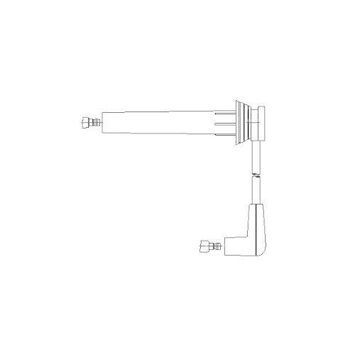 1 Zündleitung BREMI 6A80//26 passend für BMW