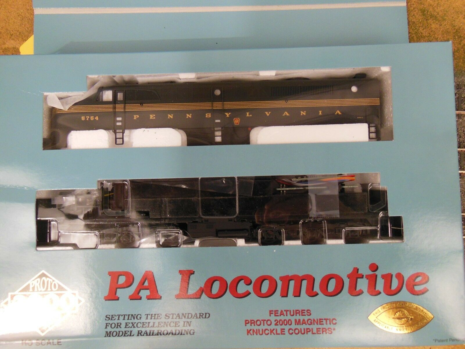 Ho Projoo 2000 Pennsylvania PA   5754a Locomotora Dcc Equipado