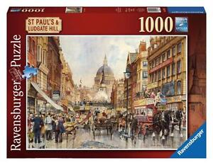 Ravensburger 19502 Landmark St Pauls & Ludgate Hill 1000 Piece Jigsaw Puzzle New