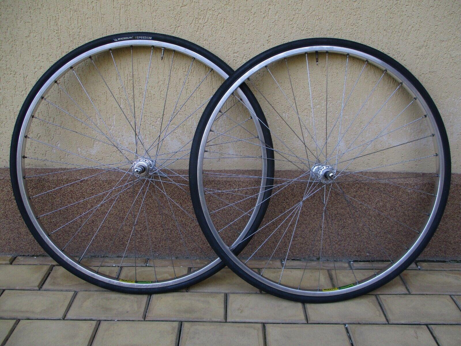 Vintage front wheels Campagnolo Athena   Mavic  Ma2  -  36 hole  outlet online
