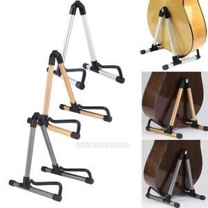 Aluminum-Folding-Electric-Acoustic-Bass-Guitar-Stand-A-Frame-Floor-Rack-Holder