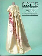DOYLE COUTURE Chanel Dior Gernreich Gucci Valentino Auction Catalog 1999