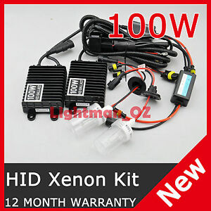 100W-AC-HID-XENON-DIGITAL-CONVERSION-KIT-H1-H3-H7-H11-9005-9006-HB3-HB4-D2S