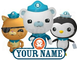 octonauts personalised sticker wall or iron on transfer 30 best mr m s octonauts bedroom ideas images on pinterest