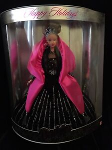Barbie Happy Holidays Special Edition Barbie Doll 1998 NIB