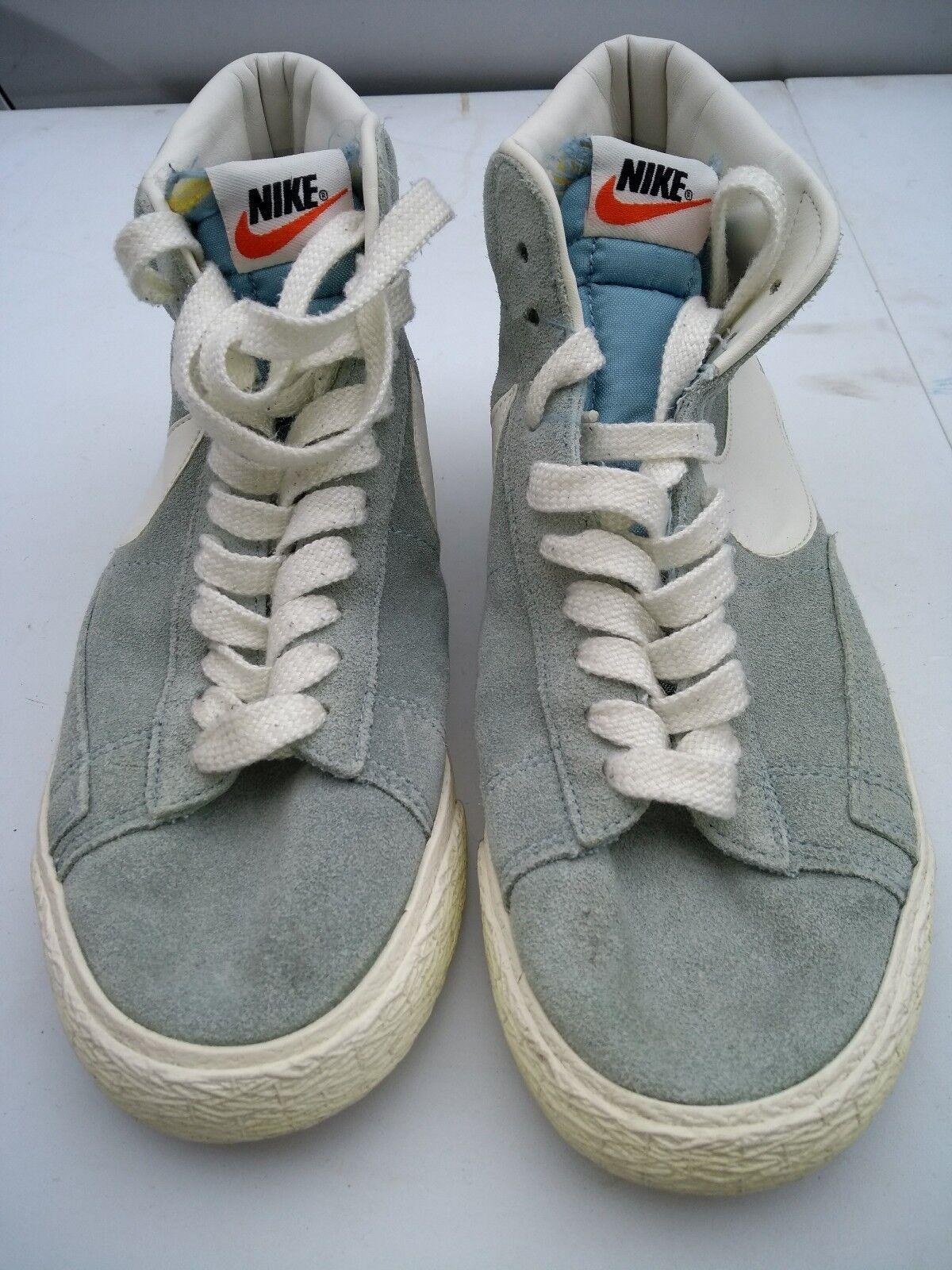 Nike wmns blazer blu scamosciato vntg taglia a a a metà | Fai pieno uso dei materiali  f1c061