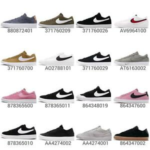 more photos 9b4a9 9d933 Details about Nike Blazer Low Mens Classic Casual Shoes Sneakers Footwear  Pick 1
