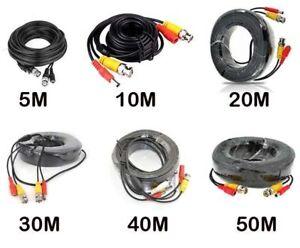 5m-10m-15m-20m-30m-50m-cavo-di-alimentazione-video-BNC-per-TELECAMERA-CCTV-DVR-sistema-di-sicurezza