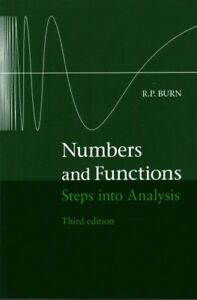 Numbers-and-Functions-Steps-into-Analysis-Paperback-by-Burn-R-P-Brand