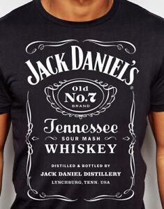 Jack-Daniels-T-shirt-classic-Black-S-M-L-XL-New