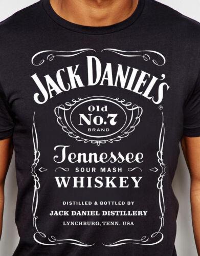 Jack Daniels T-shirt classic Black S,M,L,XL-New