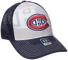 NHL Montreal Canadians Reebok Men's Face-Off Formation Structure Flex Cap, L/XL