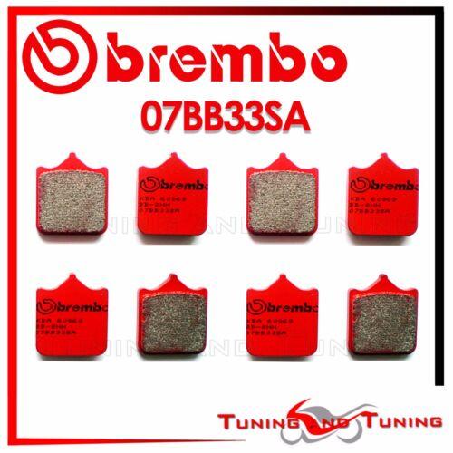 Pastiglie Anteriori BREMBO SA TRIUMPH SPEED TRIPLE 1050 2011 2012 2013 07BB33SA