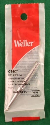 Weller Screwdriver Tip 700 Degrees 1//8 for W100//W100P