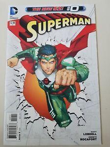 SUPERMAN-0-1-28-2011-DC-52-COMICS-FULL-RUN-OF-29-ISSUES-LENTICULAR-ANNUALS