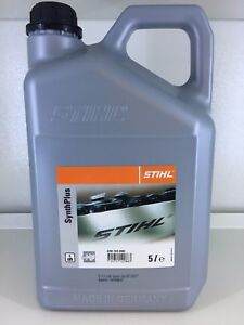 GENUINE-STIHL-SYNTH-PLUS-BAR-AND-CHAIN-OIL-CHAINSAW-OIL-5-LITRE-CAN-07815162002