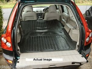 volvo xc90 estate rubber boot mat liner options and bumper. Black Bedroom Furniture Sets. Home Design Ideas