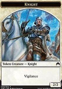 Creature Knight Token 9 x KNIGHT TOKEN NM mtg Return to Ravnica White