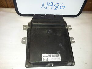 2008-08-NISSAN-ALTIMA-MEC110-140-COMPUTER-BRAIN-ENGINE-CONTROL-ECU-ECM-MODULE