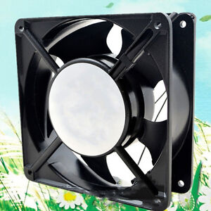 Powerful Ball Bearing Cabinet Egg Incubator Accessories Radiator Fan 110V AC BMG
