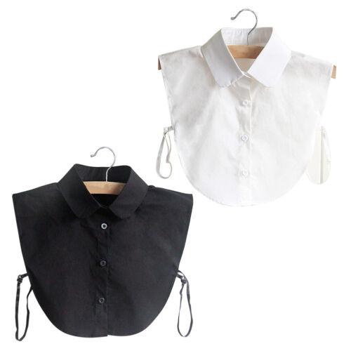 Puppe Kragen Weinlese eleganten Frauen gefälschte Halb Hemd Abnehmbare Bluse