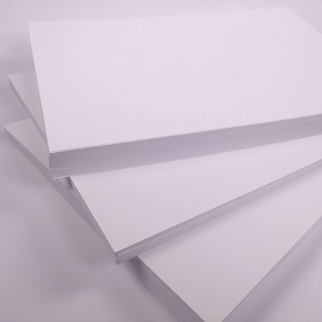 A6 White Card Postcard Size Blank Card Crafting Thick Card 50 sheets 300gsm