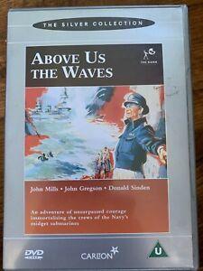 Arriba-Eeuu-The-Ondas-DVD-1955-Britanico-World-War-II-WW2-Submarino-Cine-Clasico