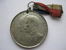 1935 Silver Jubilee medal, white metal, 39mm.